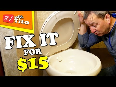 RV Toilet Seal Replacement 1