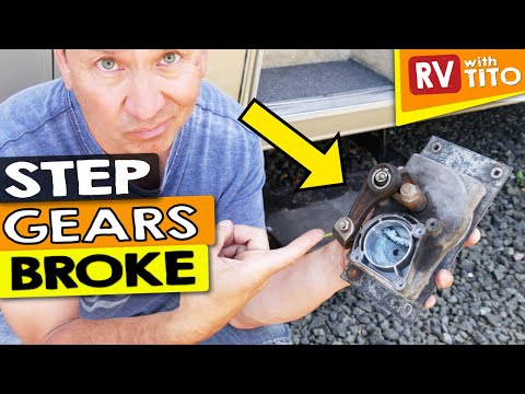 How To Repair An Automatic RV Step 2