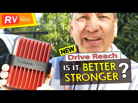 Weboost Drive Reach Cell Booster Review - More Powerful than Drive X? These Test Results May Surprise You 1