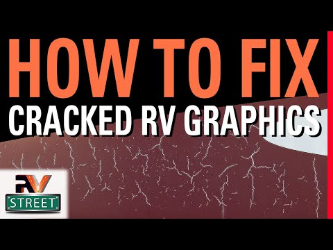 How To Remove, Restore or Replace Faded or Cracked RV Decals 2