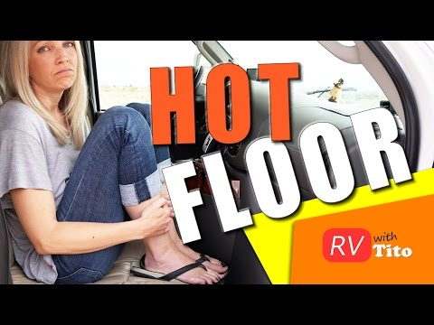 How To Fix The HOT Floor Problem in Your Gas RV 1