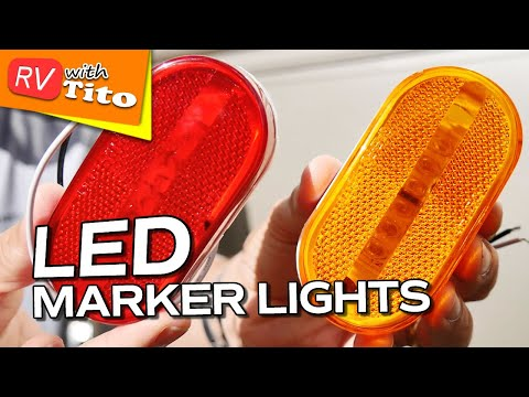 How To Install LED Marker, Clearance Lights on Your RV 1