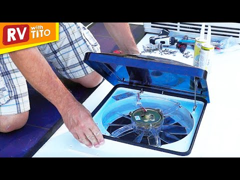 How To Install a Fantastic Vent / Fan 1