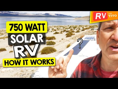 600 Watt DIY Solar System On Our RV 6