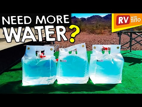 How To Refill Fresh Water Tank While Boondocking 1