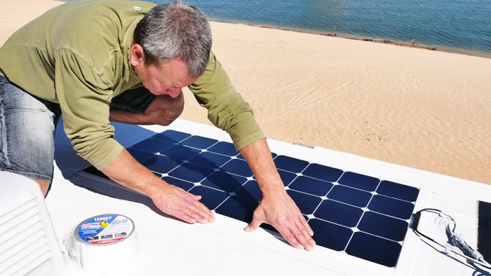 How To Install Flexible Solar Panel with No Drilling
