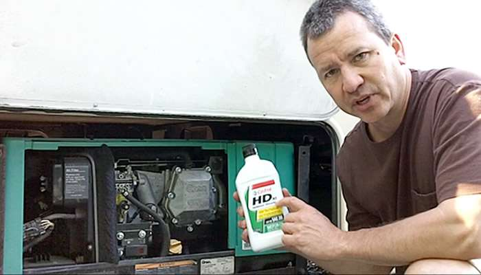 How To – Onan Generator Oil Change