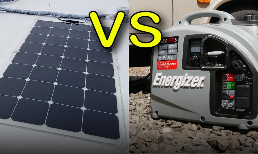 Generating Power While Boondocking (Solar vs Generator)
