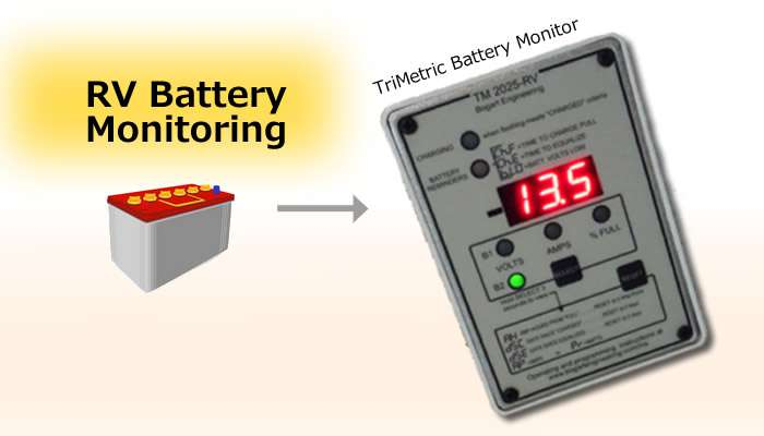 How to Monitor Battery Usage with a Trimetric Battery Monitor