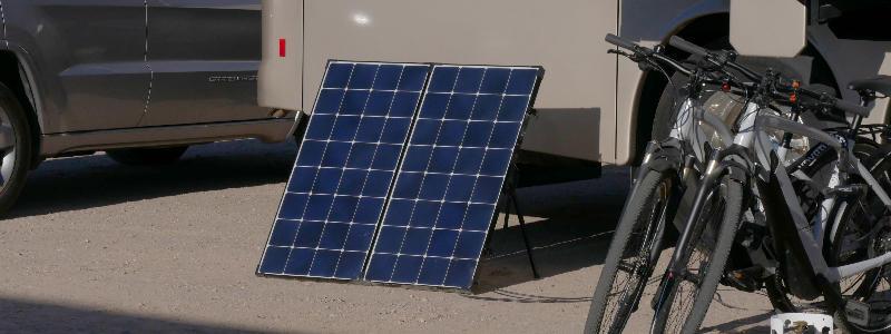 Portable Solar Panel - RVWITHTITO