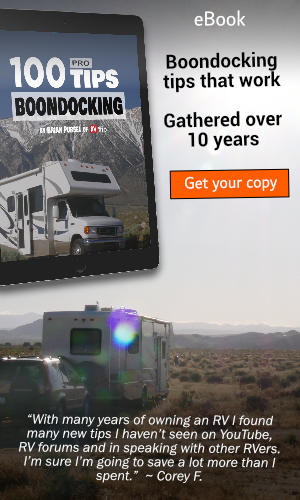100 Boondocking Tips eBook - RVWITHTITO