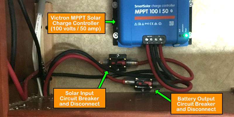 Victron RV Solar Charge Controller - DIY Installation