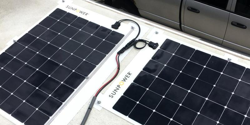 Sunpower Semi Flexible RV Solar Panels