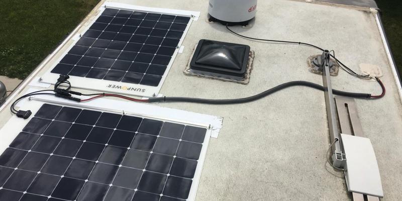 Semi Flexible RV Solar Panels