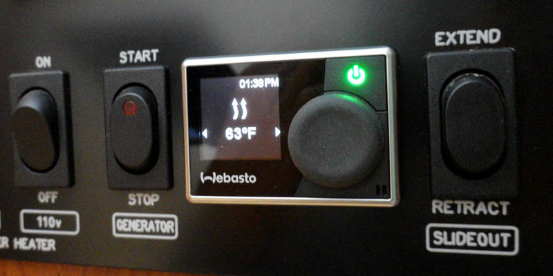 Webasto Heater Controls