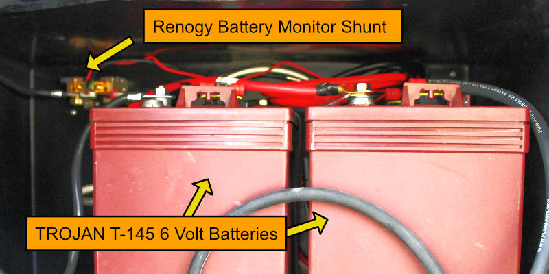 DIY Renogy Solar Trojan Batteries