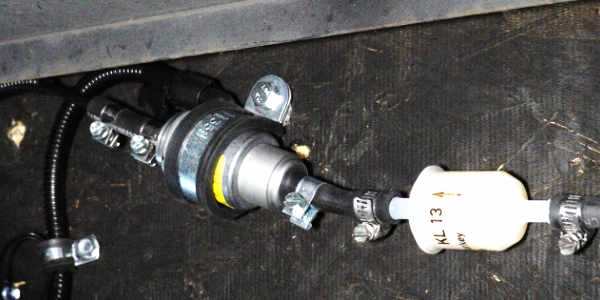 Webasto Heater Fuel Pump Installation