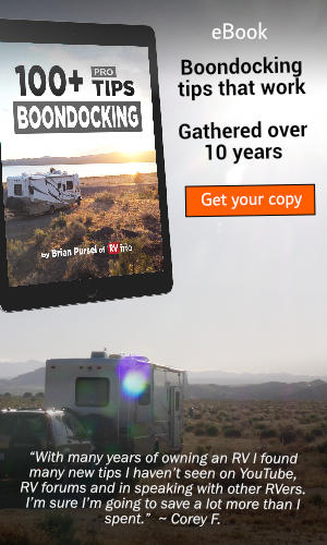 100+ Pro Boondocking Tips eBook