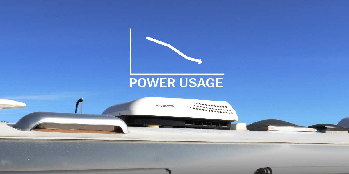 How Much Power Does RV Air Conditioner Use