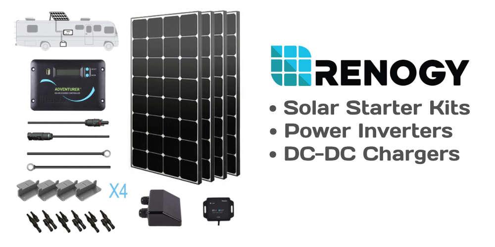 Renogy.com DIY RV Solar Components